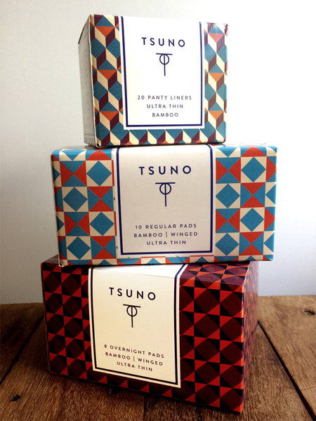 Tsuno Sustainable Sanitary Pads