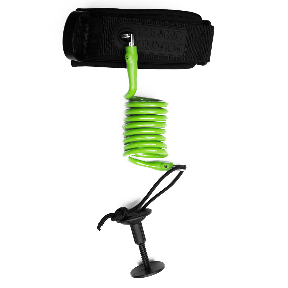ULTRA COMP LEASH - LIME GREEN