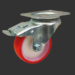 Braked Swivel Castor- 100mm wheel