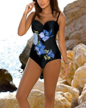 Load image into Gallery viewer, Sand beach Floral Printing One Piece Swimsuits