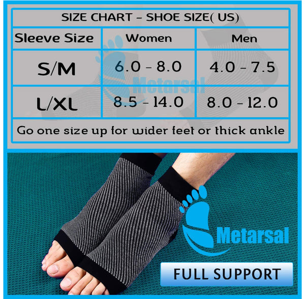 80d4c73ca1 Foot Compression Socks with Ankle Support, Plantar Fasciitis Brace with  Arch Support for Injury Recovery
