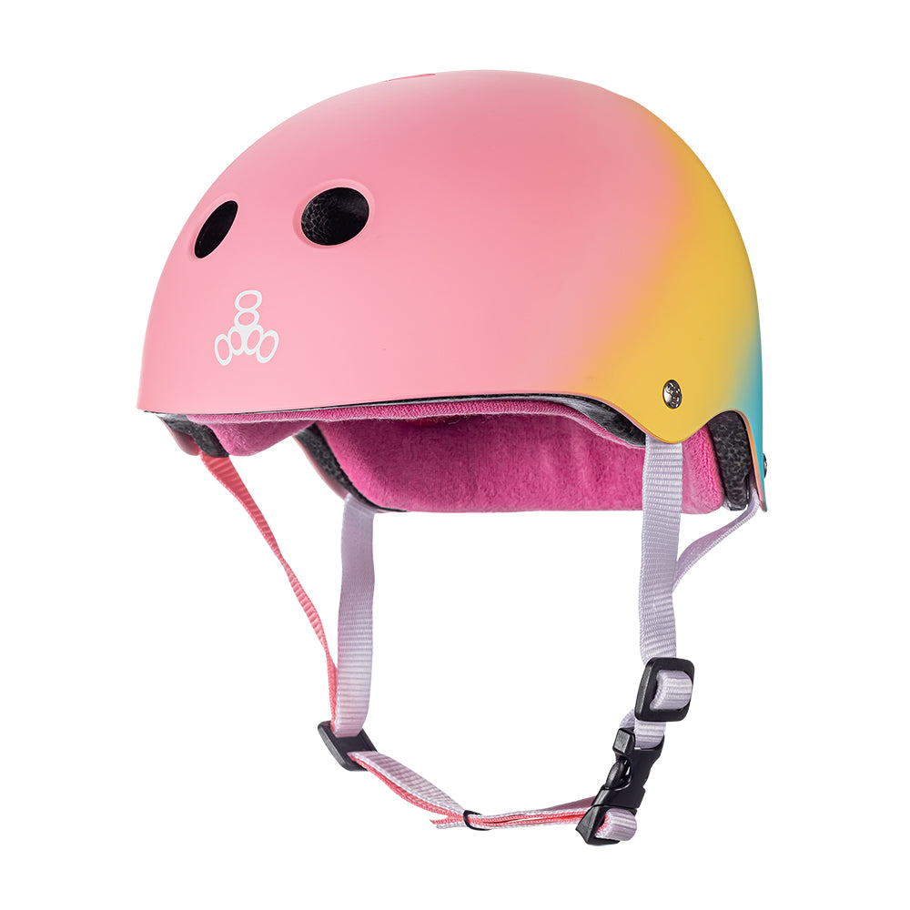 Triple 8 Certified Sweatsaver Helmet - Shaved Ice