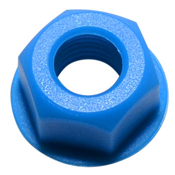 Mota Nylock Axle Nuts - Assorted Colours
