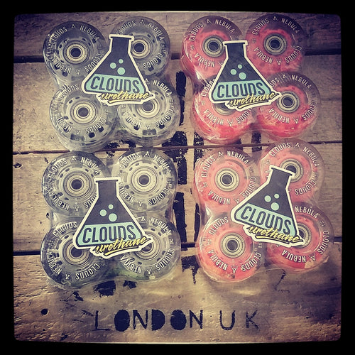 Clouds Urethane: Nebula Light Up Wheels (X 8)
