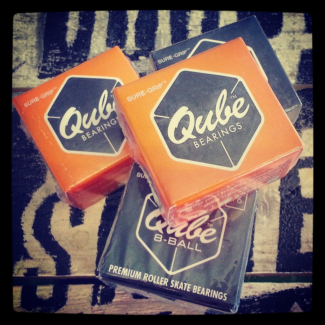 Qube Juice, Qube 8-Ball & Qube Teal Bearings