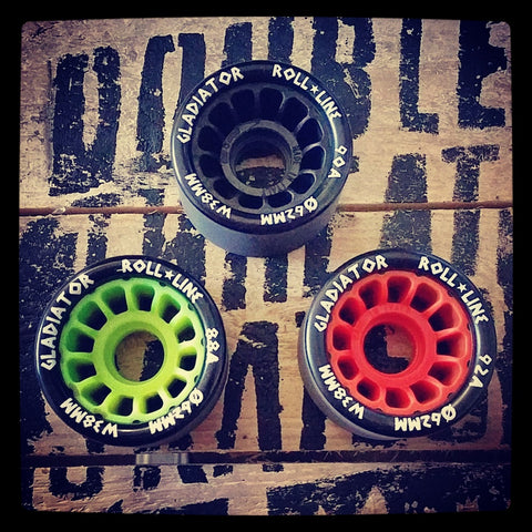 Roll-Line Gladiator Wheels (Pack of 8)