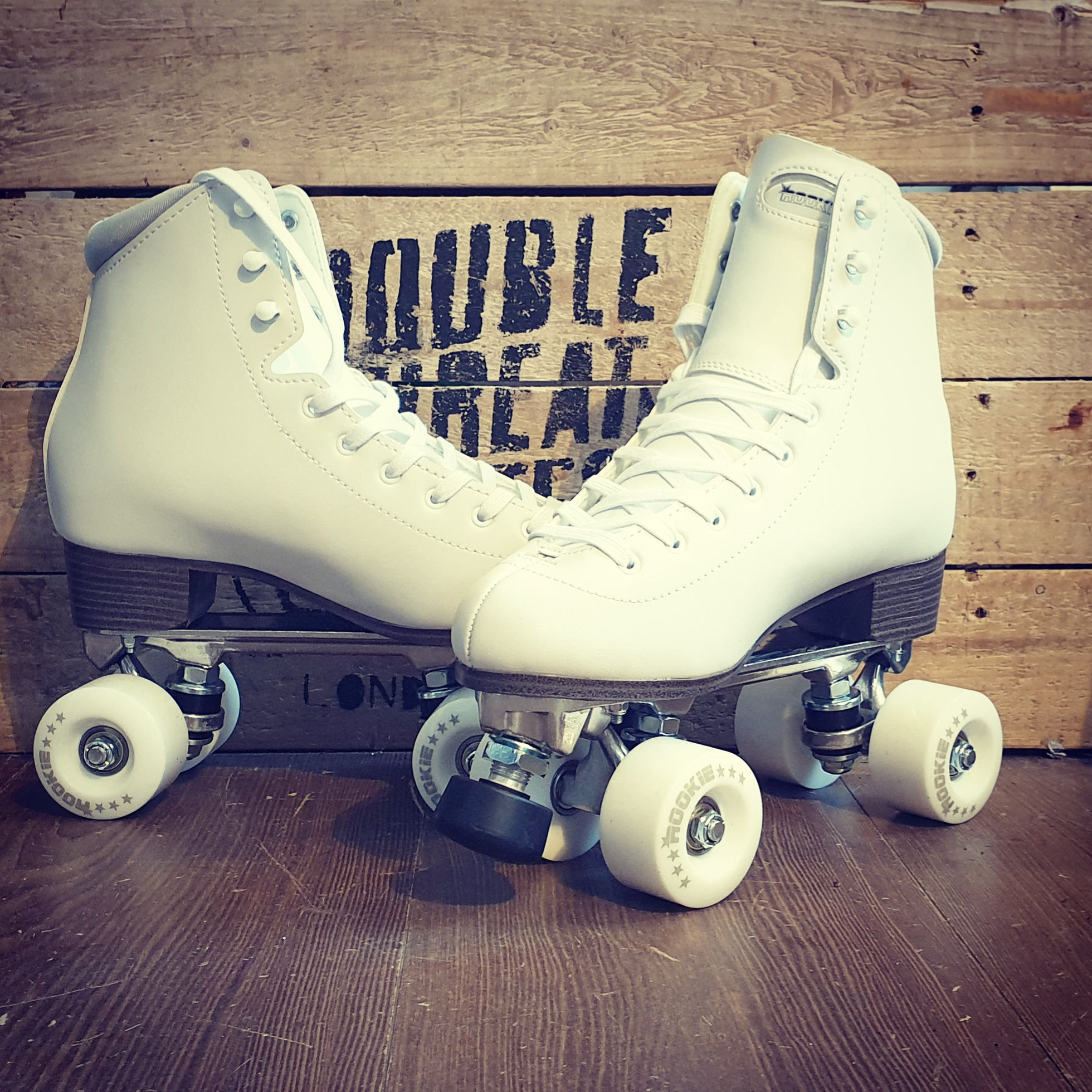 Rookie Rollerskates Artistic WHITE