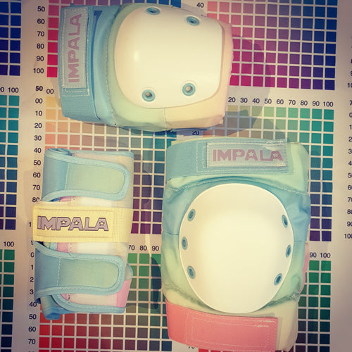 Impala Protective Gear Pad Set PASTEL FADE - ADULT