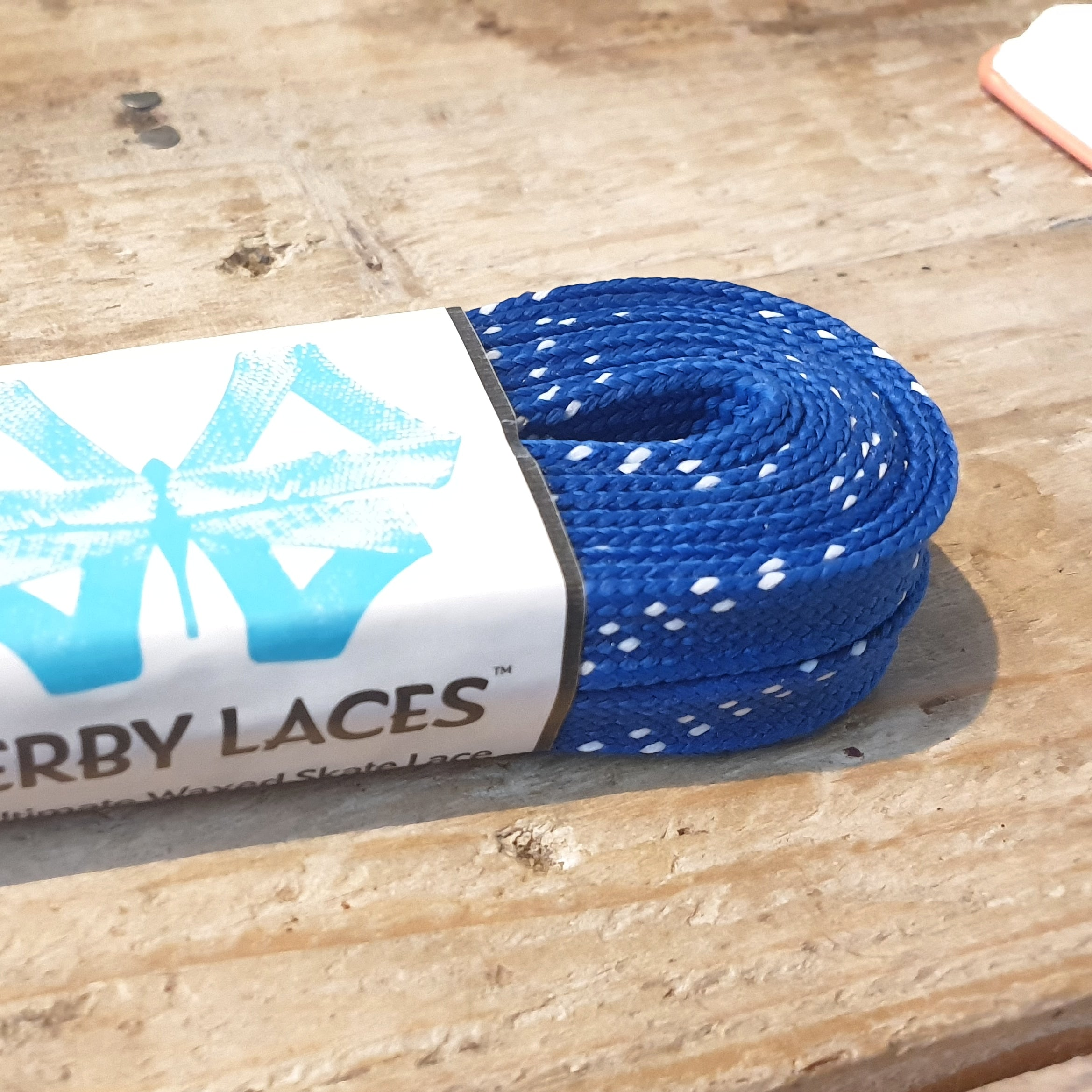 Waxed 10mm Derby Laces