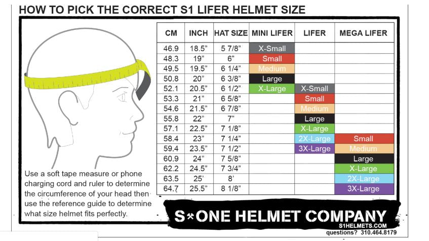 Replacement S-One Helmet Liners
