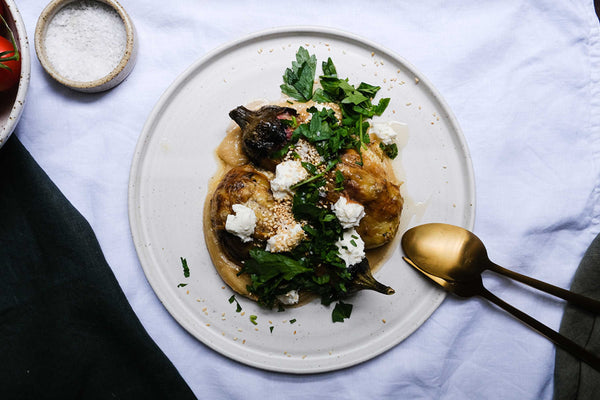 Smoky Eggplant with Tahini