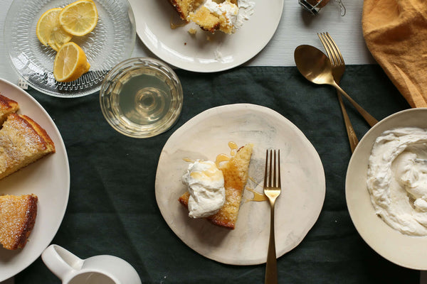 Orange Blossom & Yoghurt Cake