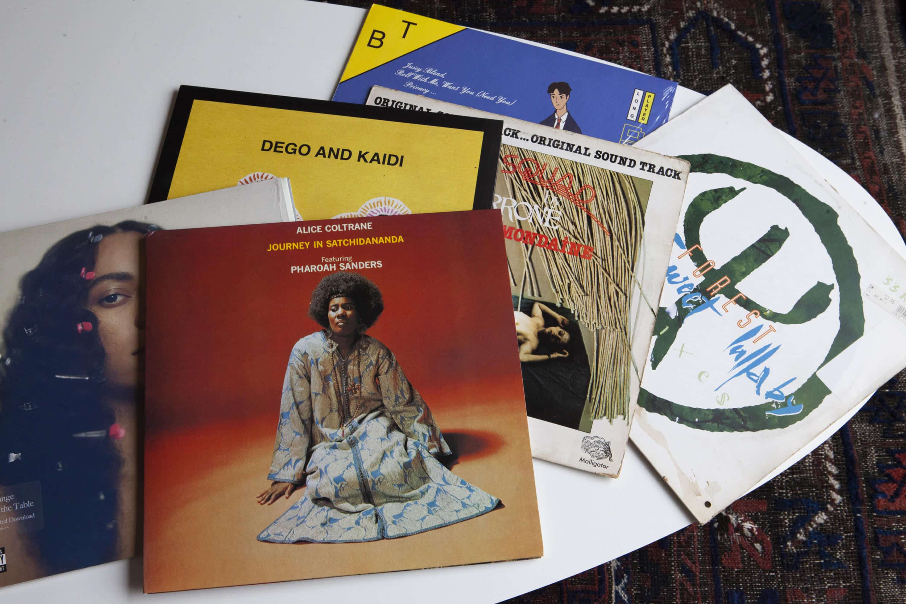 A selection of Valerie's records.