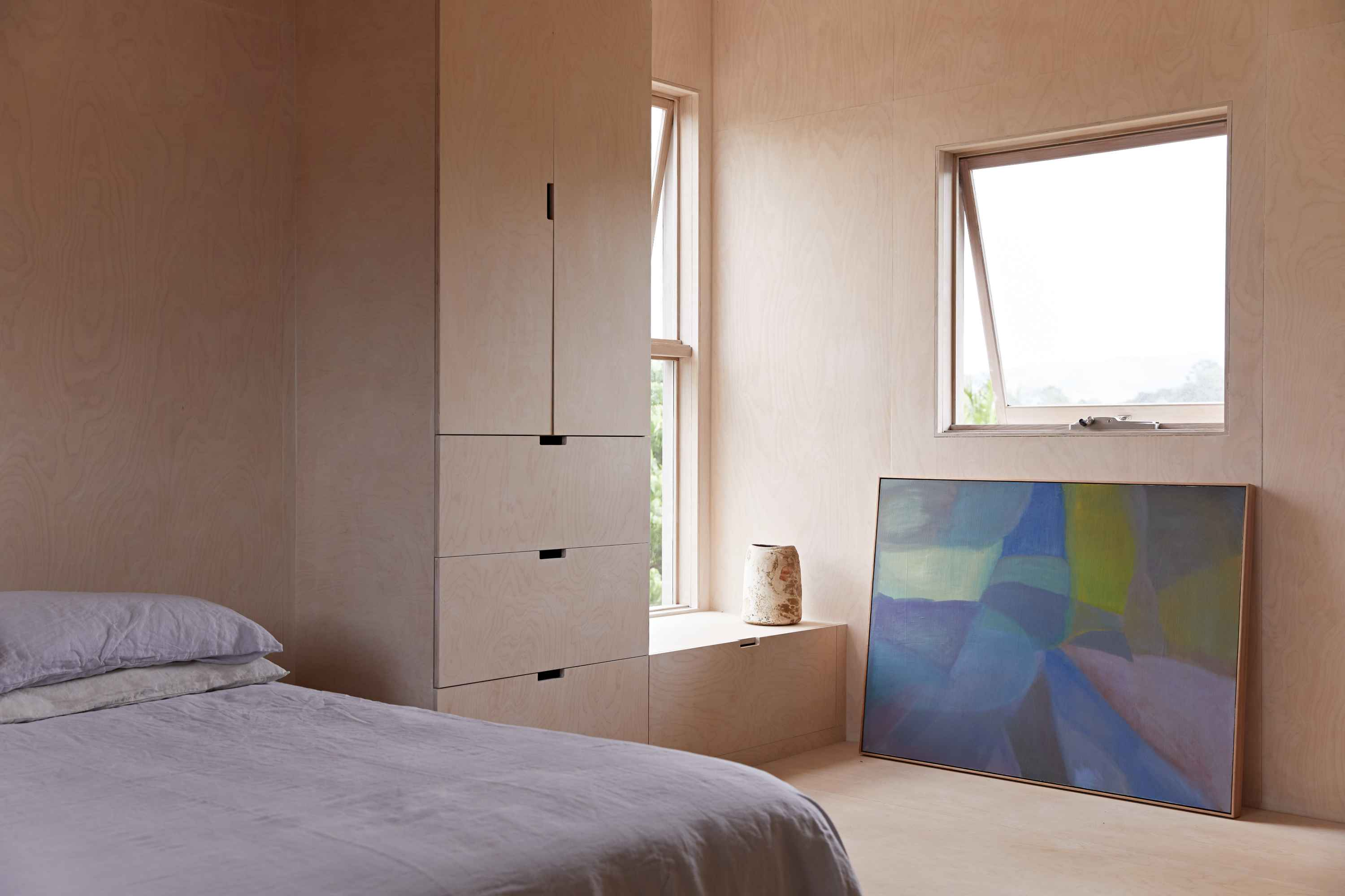 100% linen by IN BED at home with Azzmin Rayment of Braer Studio.
