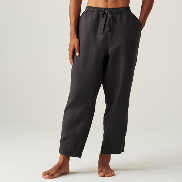 100% Linen Pants in Kohl - Mens