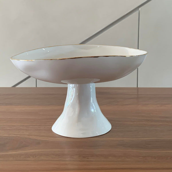 Feldspar Gold Fruit Bowl