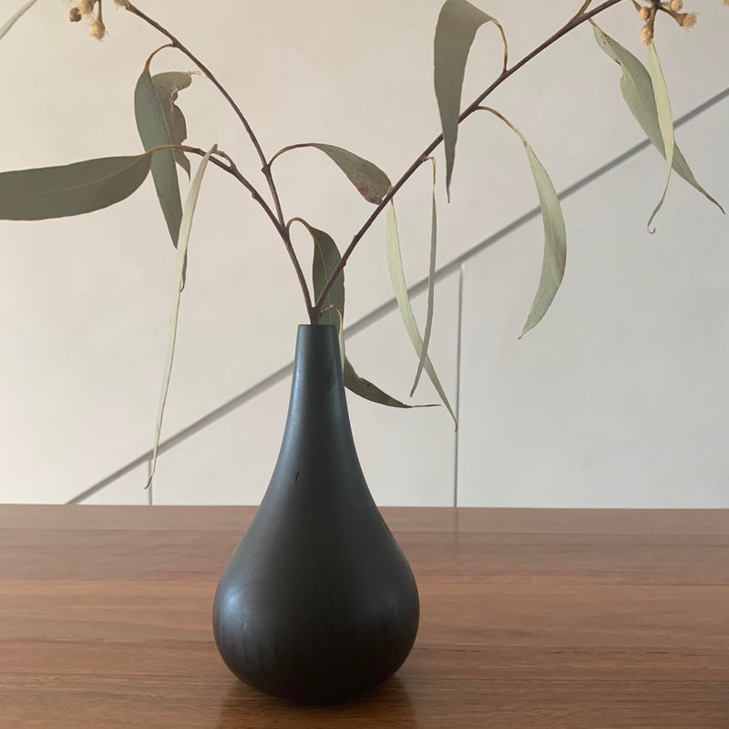 Walk In The Park Wooden Dry Vase 1