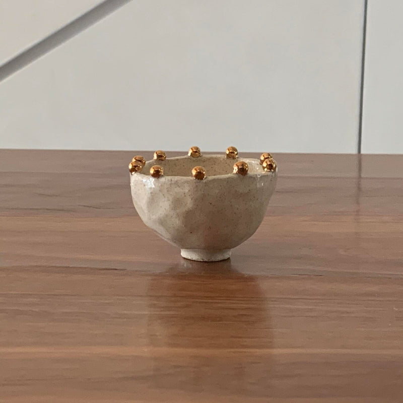 Tara Burke Jewellery bowl with gold