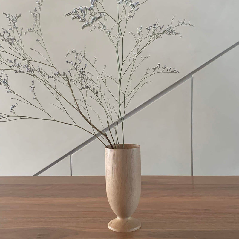 Walk In The Park Wooden Dry Vase