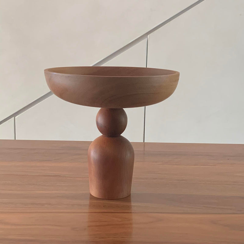 Walk In The Park Wooden Bowl Stand 2