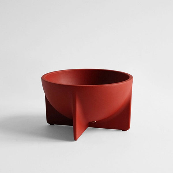 FS Objects Small Standing Bowl, Sienna