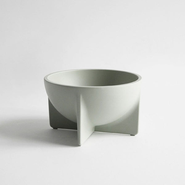 FS Objects Small Standing Bowl, Sage