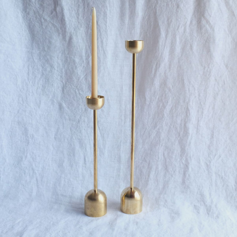 FS Objects Dome Spindle Candle Holder, Small