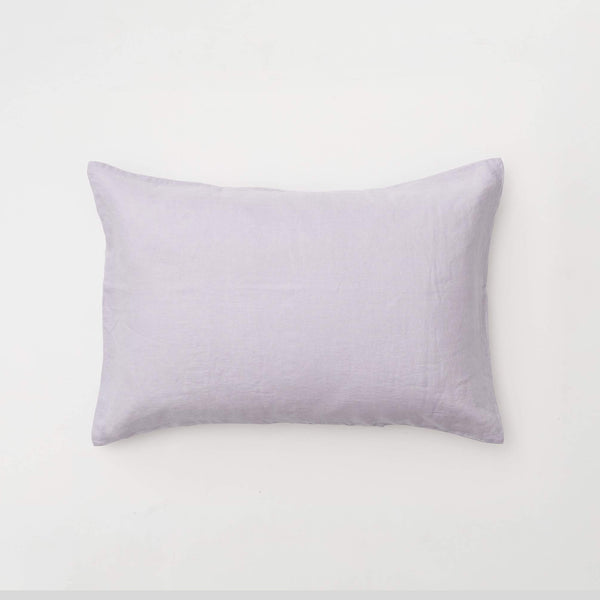 100% Linen Pillowslip Set (of two) in Lilac