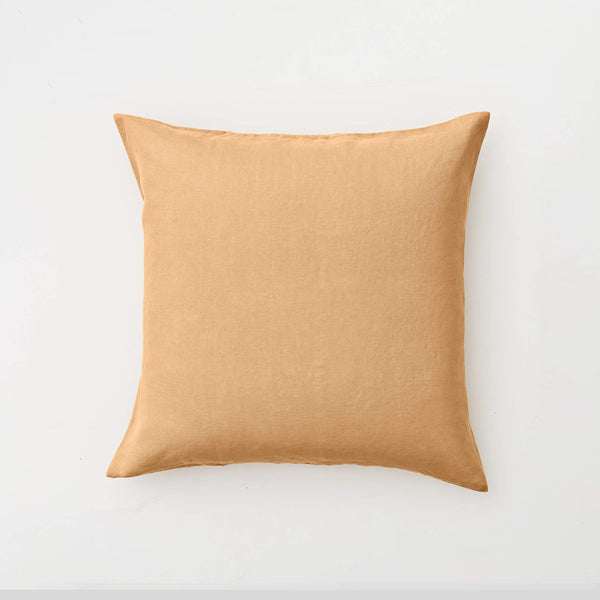 100% Linen Pillowslip Set (of two) in Tan