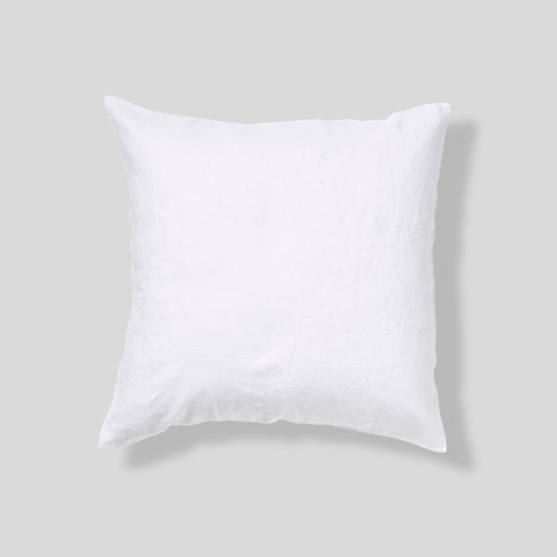 100% Linen Pillowslip Set (of two) in White
