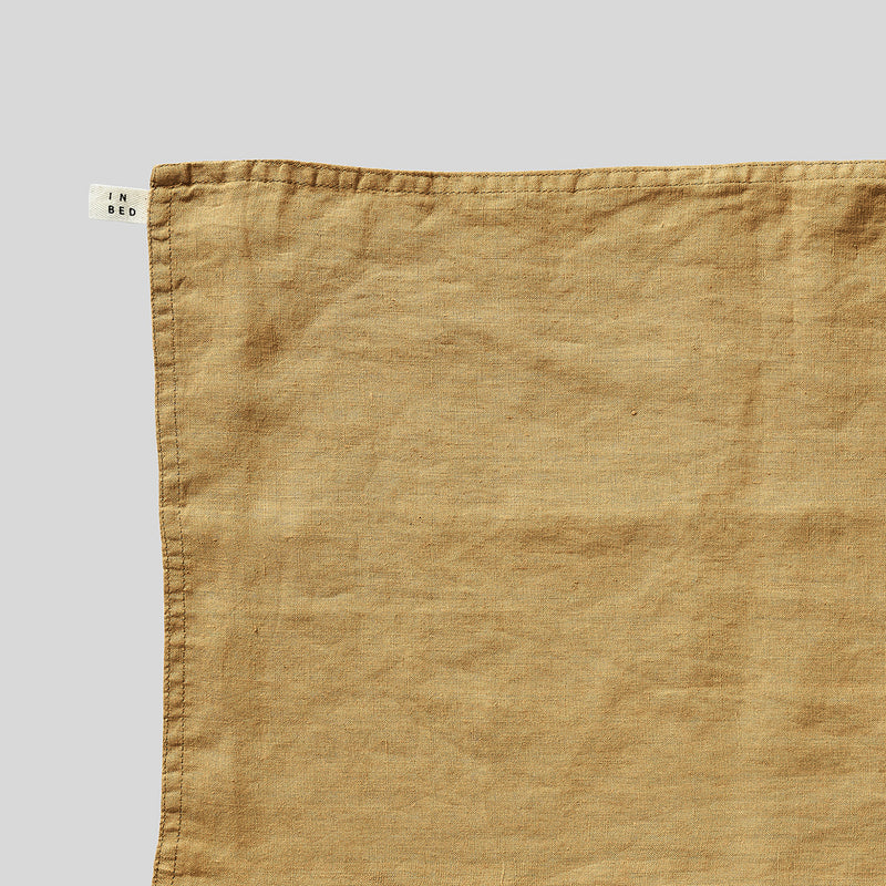 100% Linen Placemat Set in Mustard