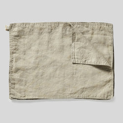 100% Linen Placemat Set in Natural