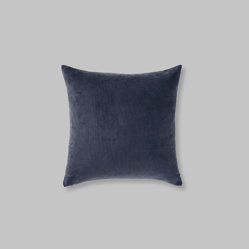 Organic cotton cushion in Midnight  - square