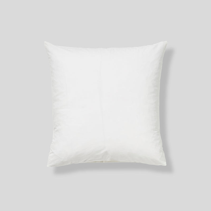 Washed Cotton Pillowslip Set (of two) in Chalk