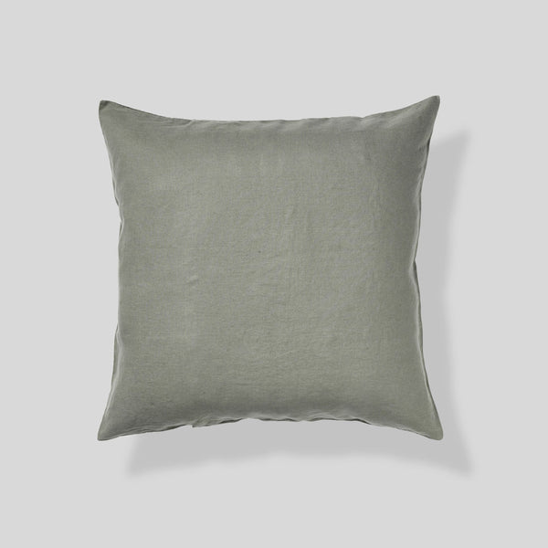 100% Linen Pillowslip Set (of two) in Khaki