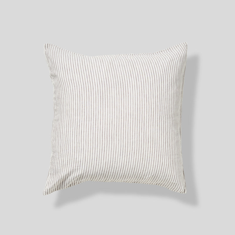 100% Linen Pillowslip Set (of two) in Stripe