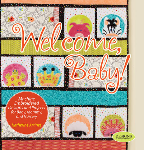 Welcome Baby! Book by Katherine Artines