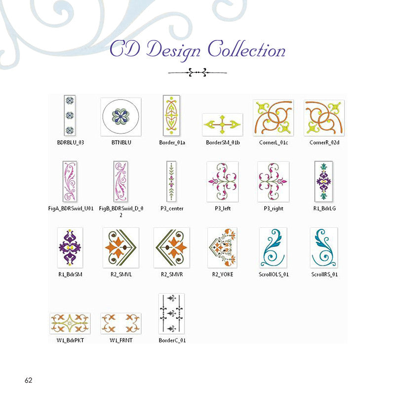 Amazing designs embroidery solutions continuous border collection i