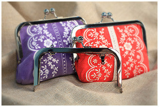 "6"" x 3"" Snap Clutch Purse Frame"