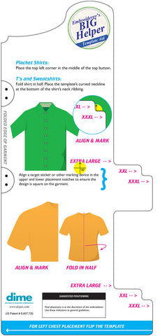 photograph regarding Printable Embroidery Placement Ruler identify Embroidery Situation Instruments - Layouts within just Gadget Embroidery