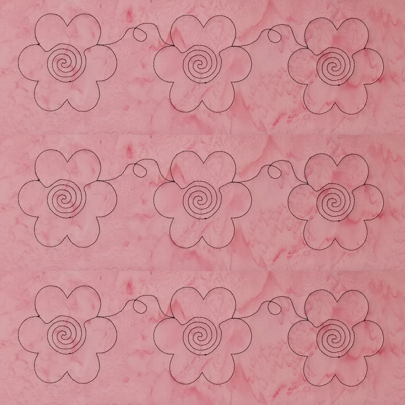 Digitizing Floral Borders in My Quilt Embellisher