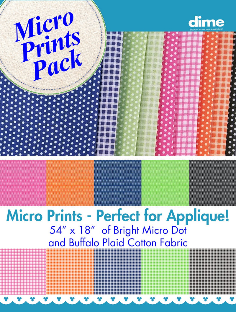 Micro Prints Fabric Pack