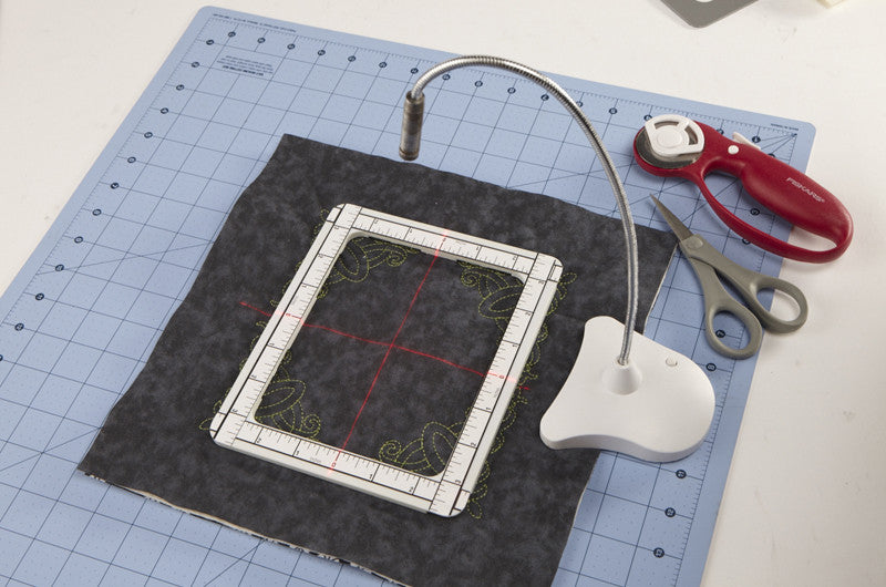 Perfect Alignment Laser Pal Designs In Machine Embroidery