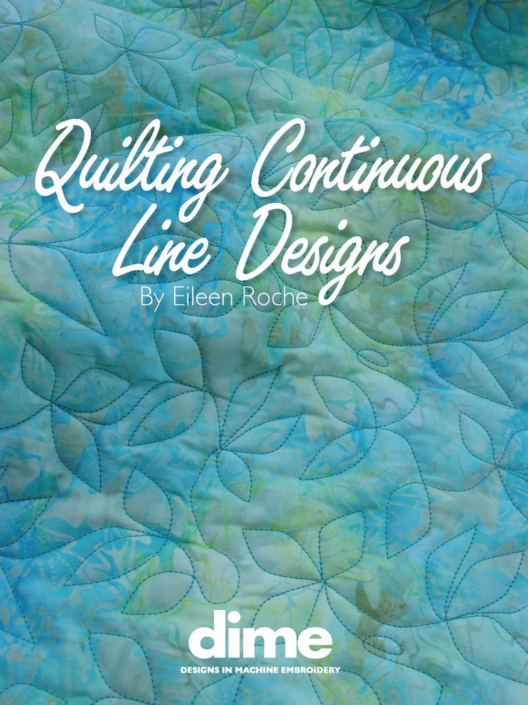 Quilting Continuous Line Designs Designs In Machine Embroidery