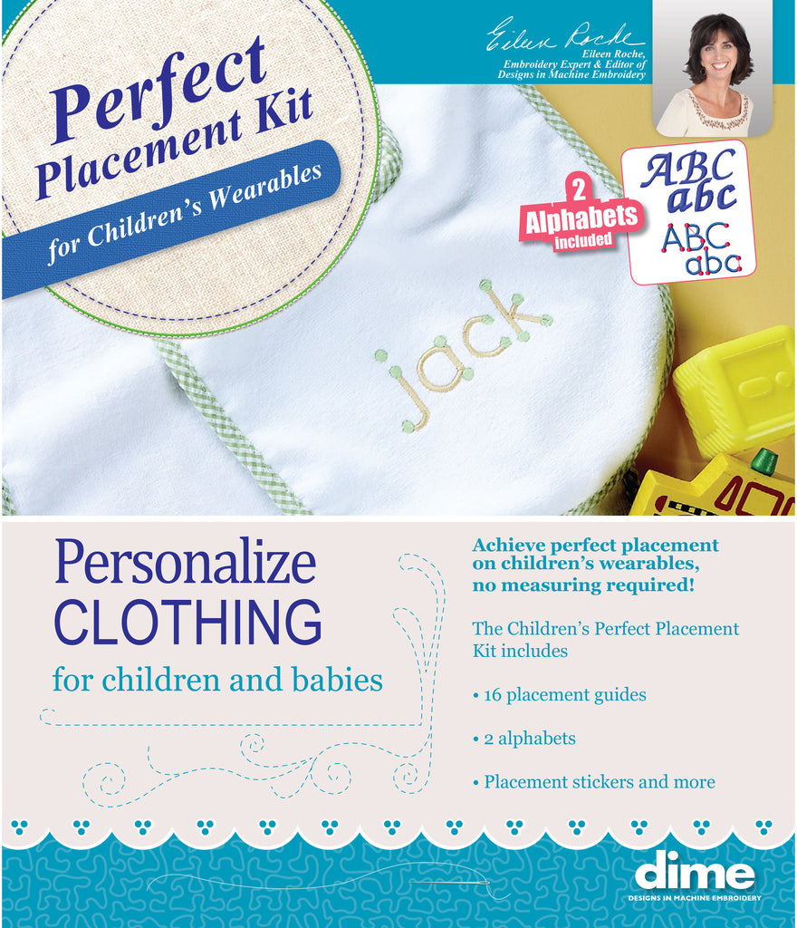 Childrens Perfect Placement Kit for youth and infant sized clothing