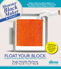 Monster Block Maker - Single Needle