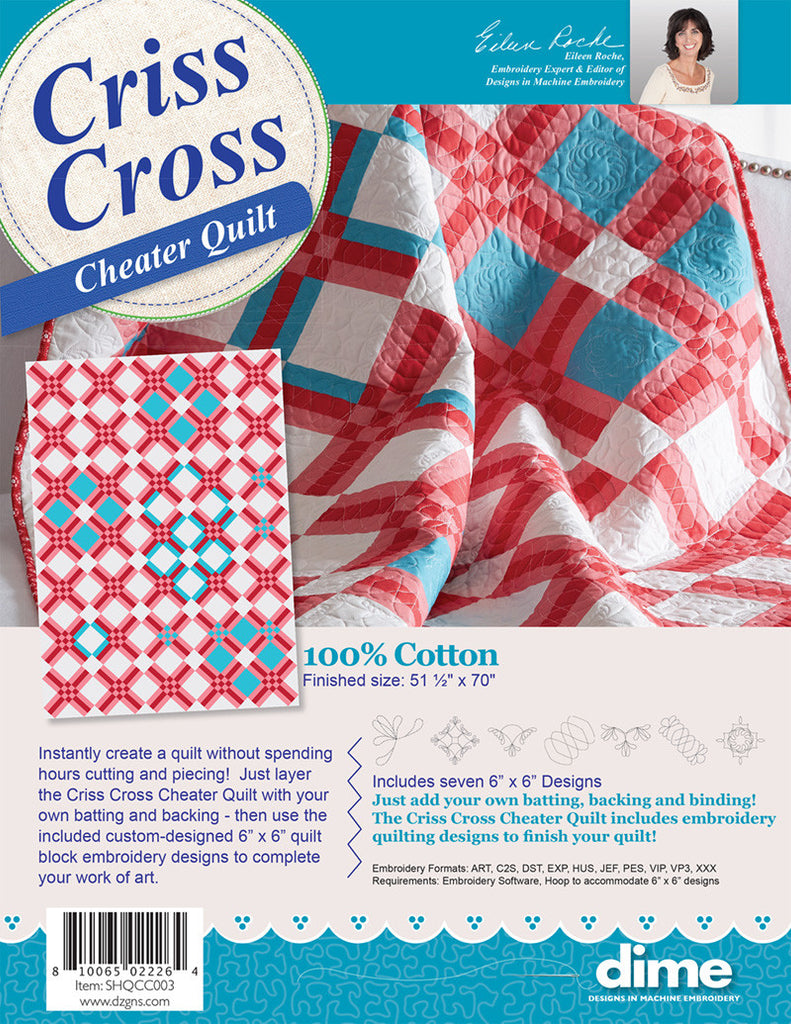 Criss Cross Cheater Quilt