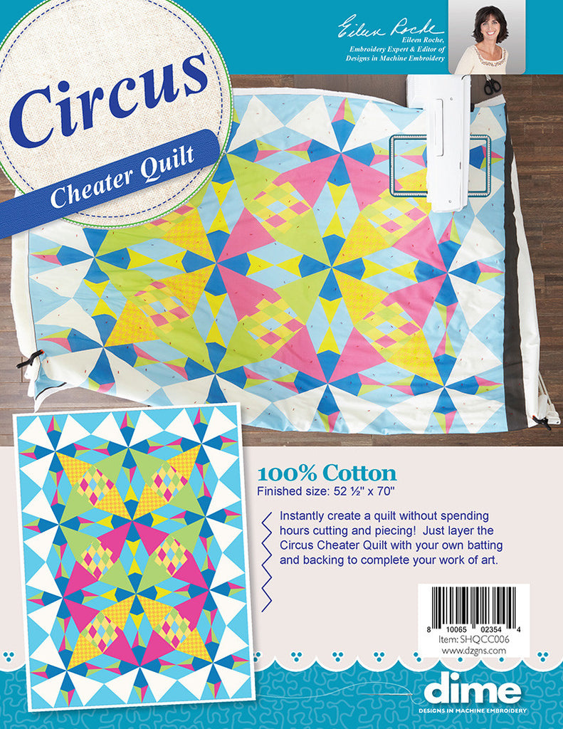 Circus Cheater Quilt