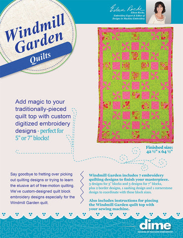 Windmill Garden Quilts