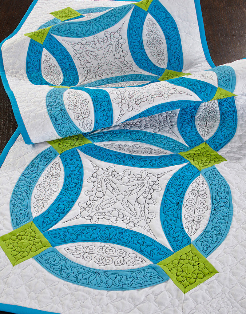 Wedding Ring Quilts Designs In Machine Embroidery